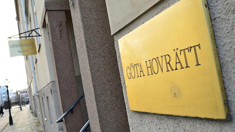 Göta Hovrätt. Foto: Johan Nilsson/TT