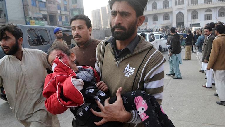Gisslan, massaker, Pakistan, talibaner