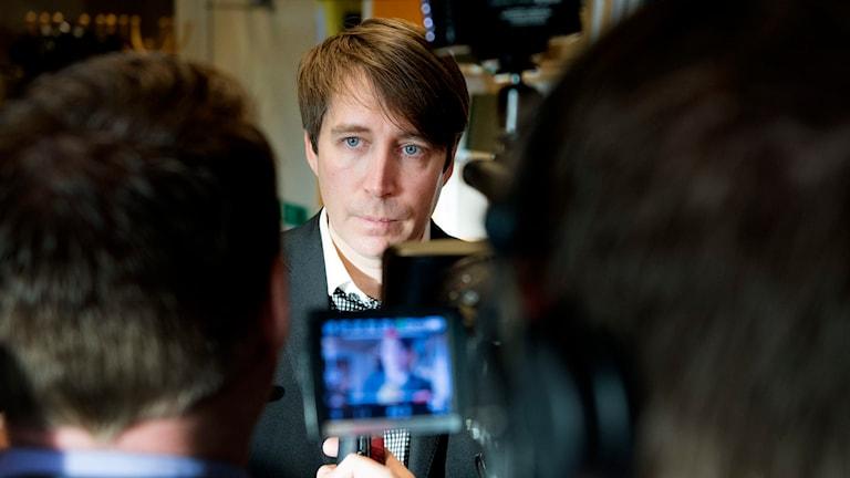 Richard Jomshof, Sverigedemokraterna. Foto: JESSICA GOW / TT