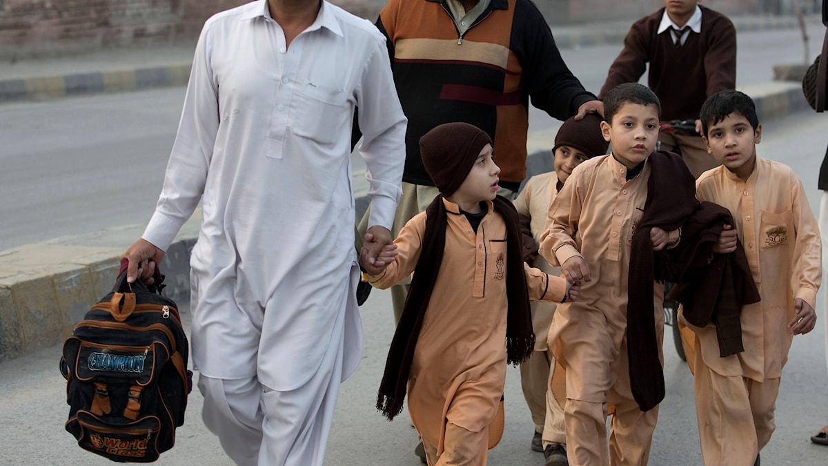 Skolmassaker, Pakistan, Talibaner