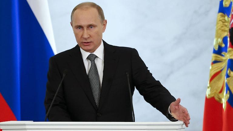 Vladimir Putin. Foto: AP/TT