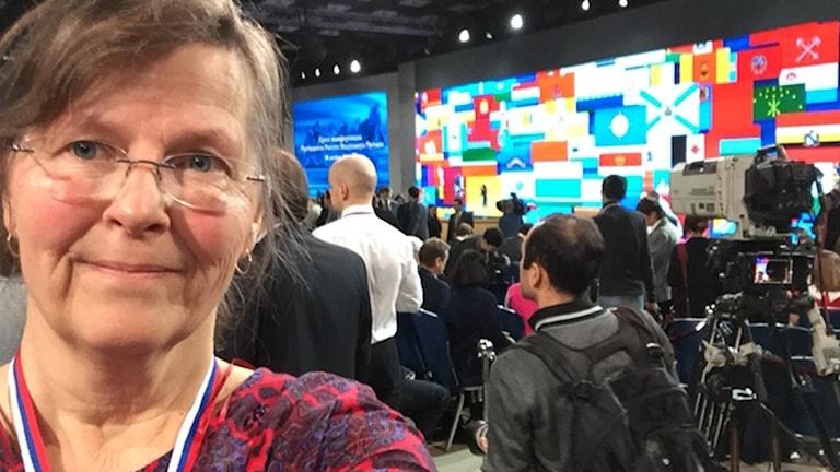 Maia Persson Löfgren, Ryssland, Putin