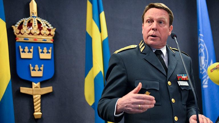 Göran Mårtensson, Försvaret