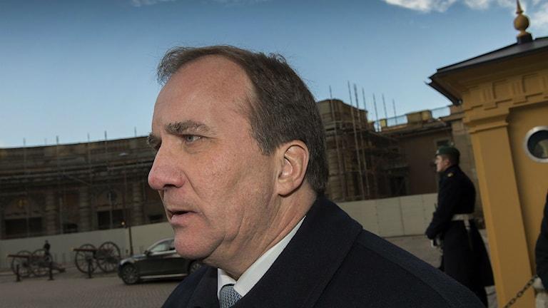 Prime Minister Stefan Löfven. Photo: Jonas Ekströmer/TT