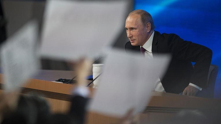 Rysslands president Vladimir Putin. Foto: AP.