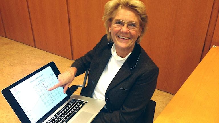 Anna-Sophia von Celsing. Foto: Karin Wirenhed/Sveriges Radio.