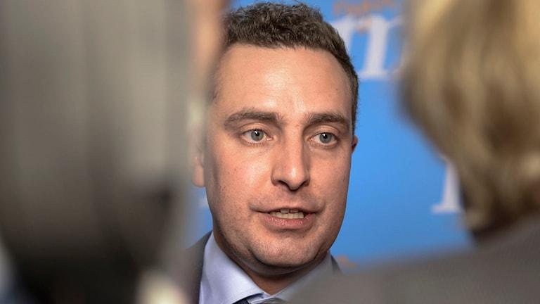 Tomas Tobé blir Moderaternas valledare. Foto: Fanni Olin Dahl / TT