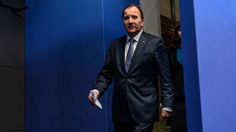 Stefan Löfven, Statsminister