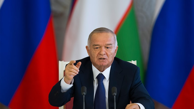 President Islam Karimov. Foto: TT