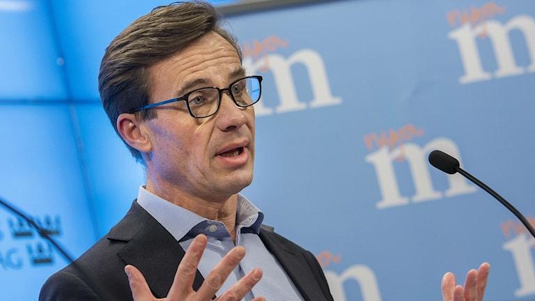Ulf Kristersson, nuvarande ekonomiskpolitisk talesperson för Moderaterna. Foto: Jonas Ekströmer/TT