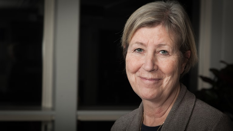 Agneta Ramberg, Sveriges Radio Ekot, november 2014. Foto: Pablo Dalence/Sveriges Radio.