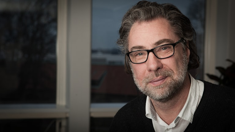 Anders Ask, Sveriges Radio Ekot, november 2014. Foto: Pablo Dalence/Sveriges Radio.