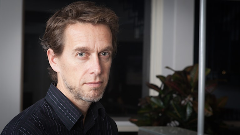 Anders Diamant, Sveriges Radio Ekot, november 2014. Foto: Pablo Dalence/Sveriges Radio.