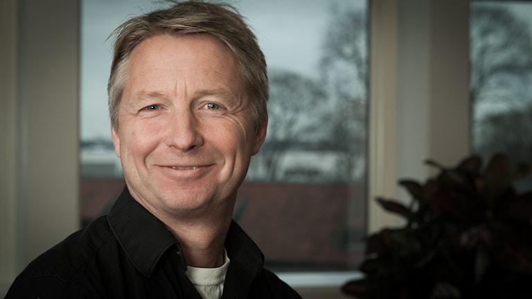 Anders Wennersten, Sveriges Radio Ekot, november 2014. Foto: Pablo Dalence/Sveriges Radio.