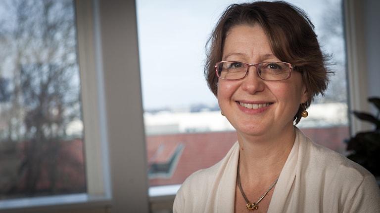 Anna Bubenko, Sveriges Radio Ekot, november 2014. Foto: Pablo Dalence/Sveriges Radio.