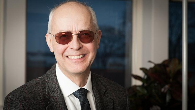 Bengt Hansell, Sveriges Radio Ekot, november 2014. Foto: Pablo Dalence/Sveriges Radio.