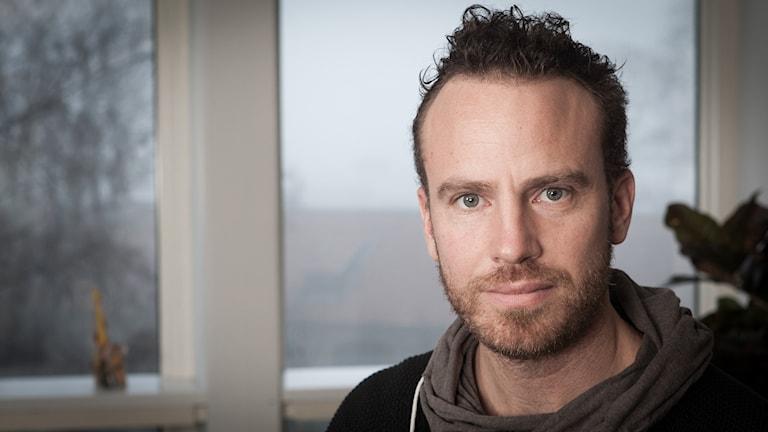 Daniel Öhman, Sveriges Radio Ekot, november 2014. Foto: Pablo Dalence/Sveriges Radio.