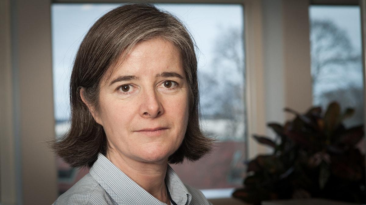 Daniela Marquardt, Sveriges Radio Ekot, november 2014. Foto: Pablo Dalence/Sveriges Radio.