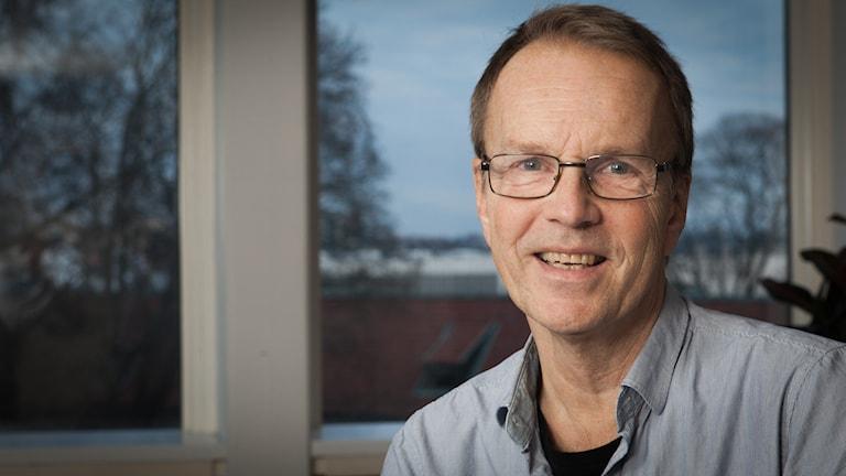 Göran Dahlqvist, Sveriges Radio Ekot, november 2014. Foto: Pablo Dalence/Sveriges Radio.