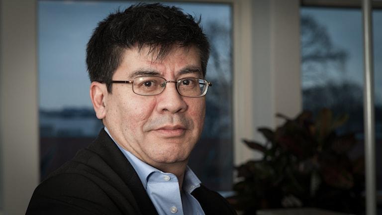 Ivan Garcia, Sveriges Radio Ekot, november 2014. Foto: Pablo Dalence/Sveriges Radio.