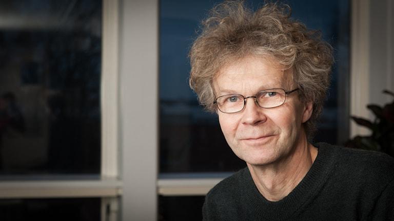 Johan Prane, Sveriges Radio Ekot, november 2014. Foto: Pablo Dalence/Sveriges Radio.