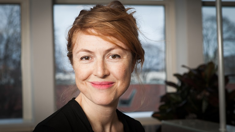 Kajsa Boglind, Sveriges Radio Ekot, november 2014. Foto: Pablo Dalence/Sveriges Radio.
