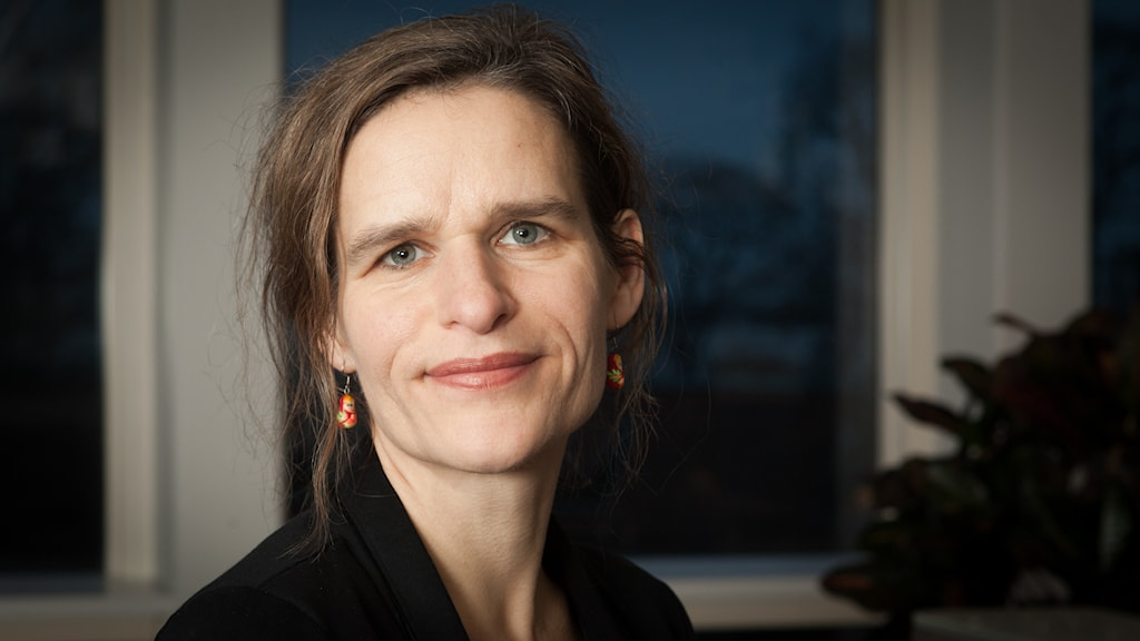 Katarina Helmerson, Sveriges Radio Ekot, november 2014. Foto: Pablo Dalence/Sveriges Radio.