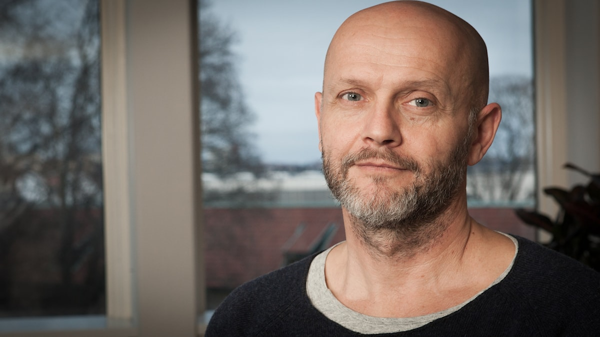 Lasse Johansson, Sveriges Radio Ekot, november 2014. Foto: Pablo Dalence/Sveriges Radio.