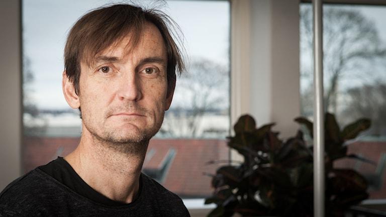 Magnus Westberg, Sveriges Radio Ekot, november 2014. Foto: Pablo Dalence/Sveriges Radio.