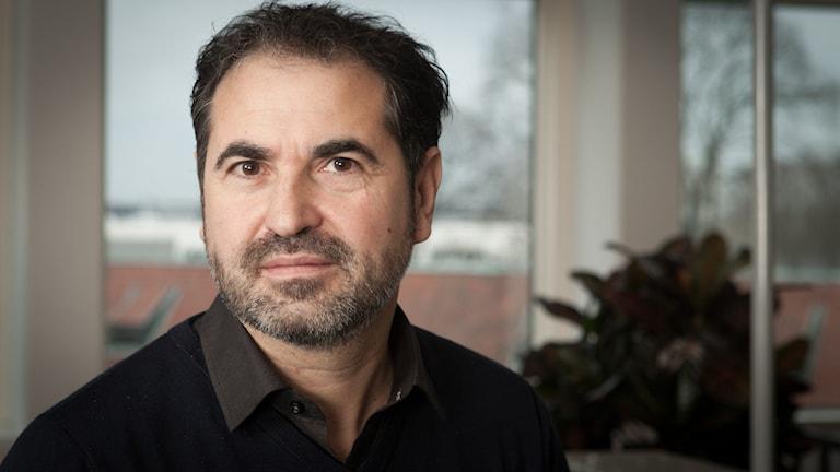 Milan Djelevic, Sveriges Radio Ekot, november 2014. Foto: Pablo Dalence/Sveriges Radio.