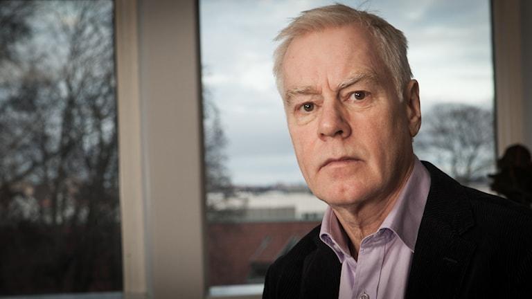 Olle Hägg, Sveriges Radio Ekot, november 2014. Foto: Pablo Dalence/Sveriges Radio.
