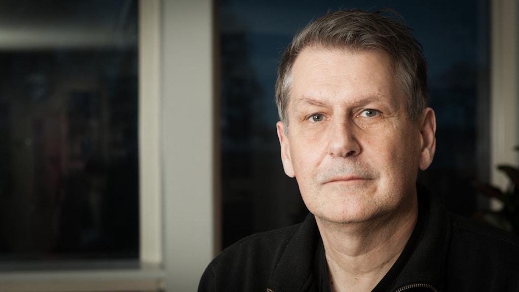 Sten Sjöström, Sveriges Radio Ekot, november 2014. Foto: Pablo Dalence/Sveriges Radio.