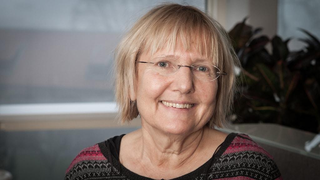 Susanne Palme, Sveriges Radio Ekot, november 2014. Foto: Pablo Dalence/Sveriges Radio.