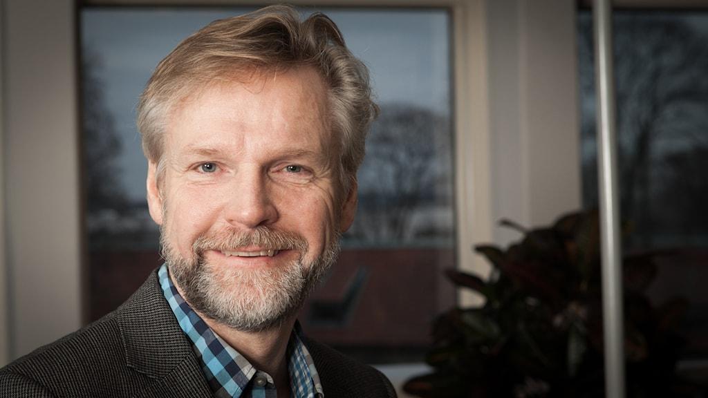 Tomas Ramberg, Sveriges Radio Ekot, november 2014. Foto: Pablo Dalence/Sveriges Radio.