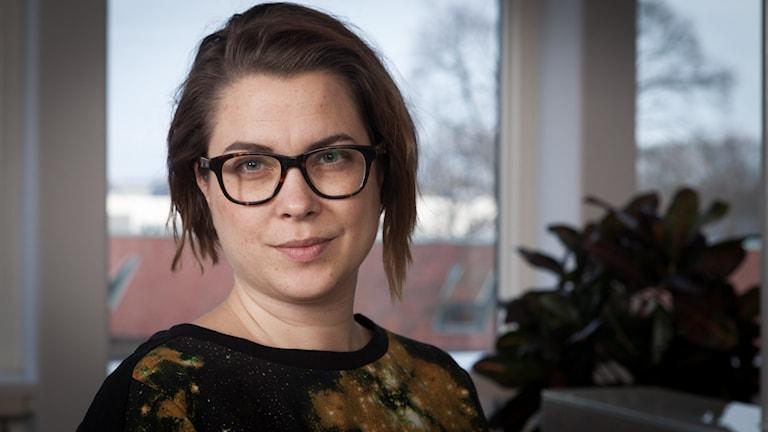 Åsa Sundman, Sveriges Radio Ekot, november 2014. Foto: Pablo Dalence/Sveriges Radio.