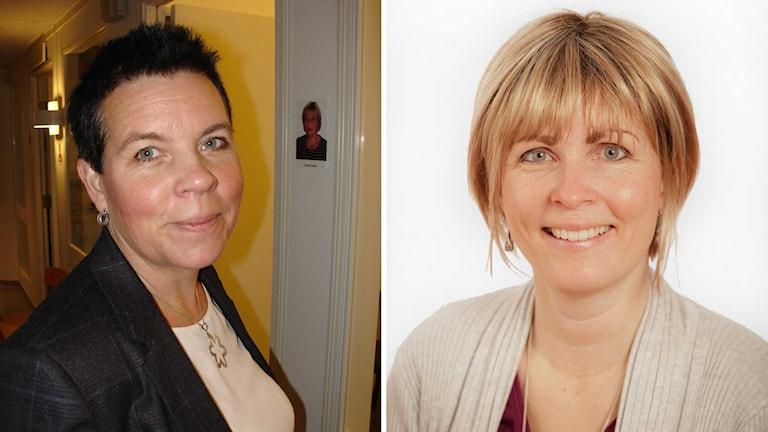 Heléne Mohlin och Maria Berg. Foto: Adoptionscentrum och Kenneth Rundberg.