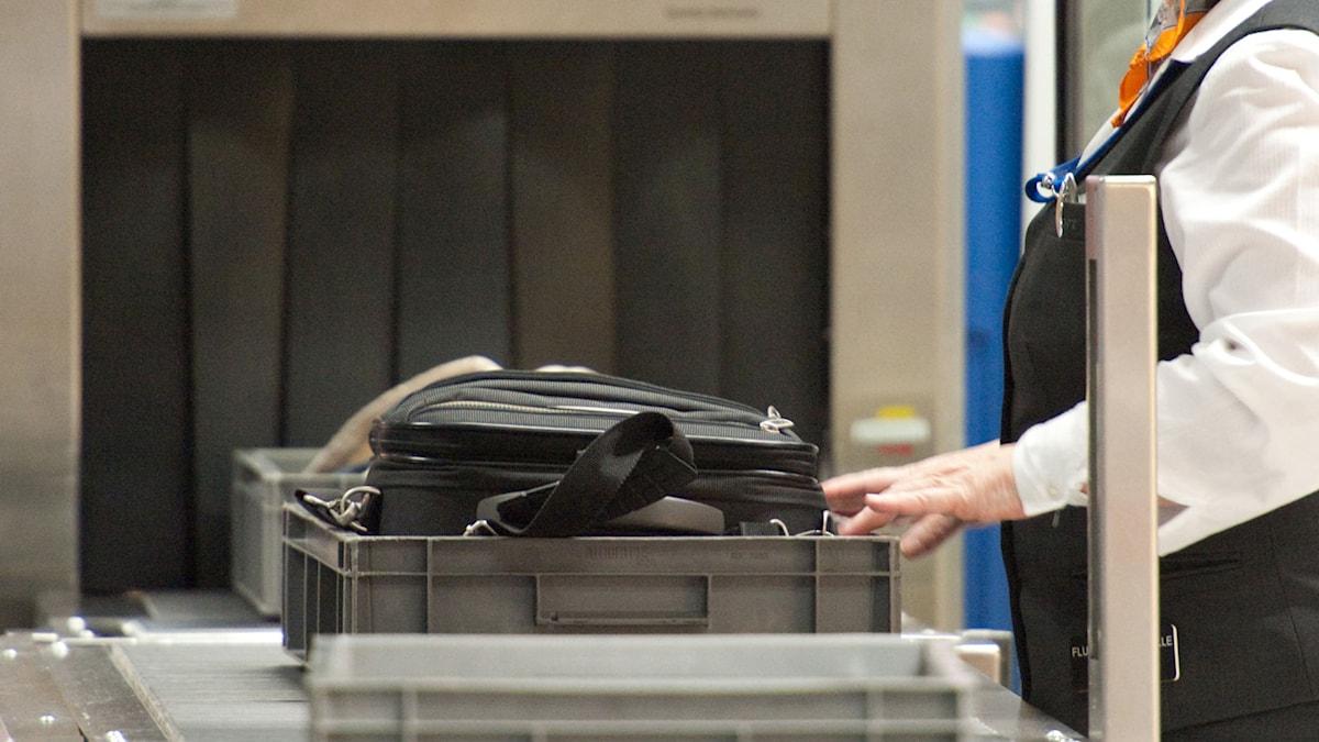 Flygsäkerheten ifrågasätts i USA efter vapensmuggling på inrikesflyg. Foto: Uwe Anspach/TT