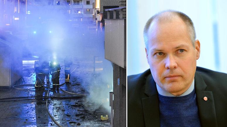 Det är ett avskyvärt illdåd, och jag hoppas att de skyldiga kan gripas.Foto Pontus Stenberg, Henrik Montgomery / TT