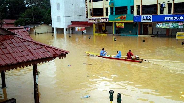 Malaysia, översvämning