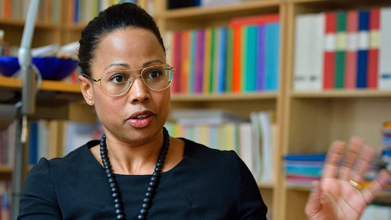 Kultur- och demokratiminister Alice Bah Kuhnke. Foto: Henrik Montgomery/TT.