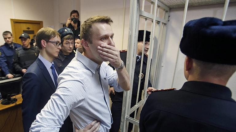 Aleksej Navalnyj. Foto: AP Photo / Pavel Golovkin / TT.