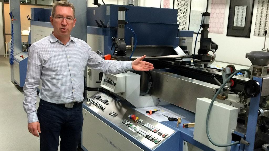 Vincent Nierstrasz, professor Textilhögskolan i Borås
