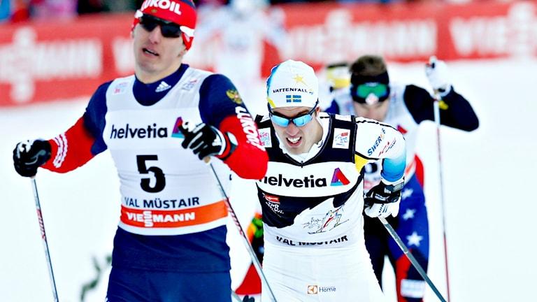 Calle Halfvarsson jagade men nådde aldrig ikapp Petter Northug