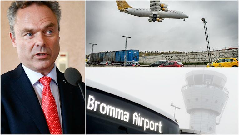 Jan Björklund vill inte att statens utredare ska styra Brommas framtid. Foto: TT