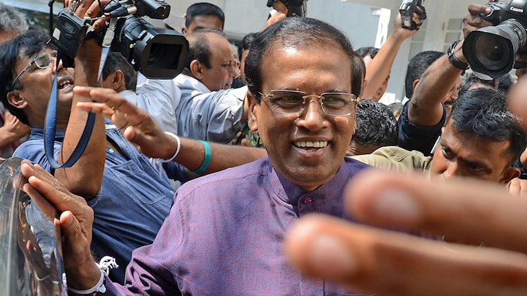 Sri Lankas nyvalde president