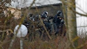 Insatsstyrka vid en anti-terror-insats i Frankrike (arkivbild). Foto: Yoan Valat/EPA.