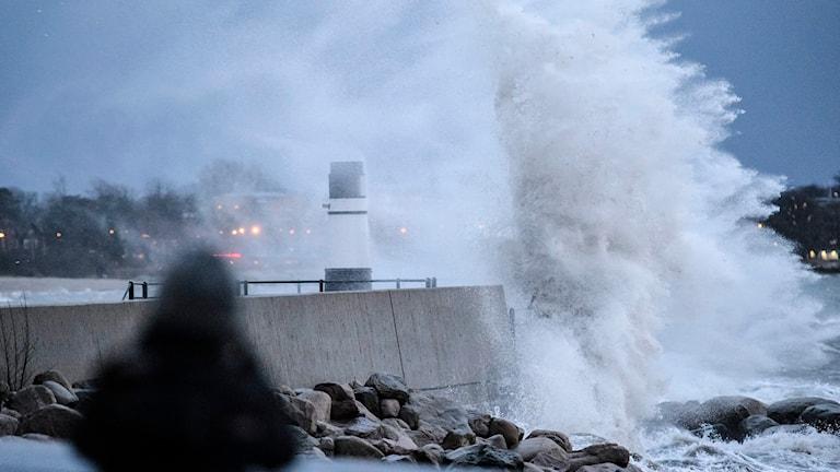 Stormen Egon. Foto: TT