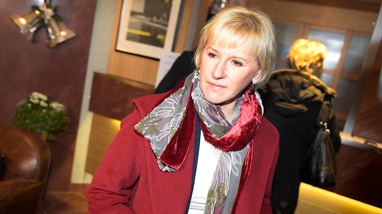 Margot Wallström (S), utrikesminister. Foto: TT