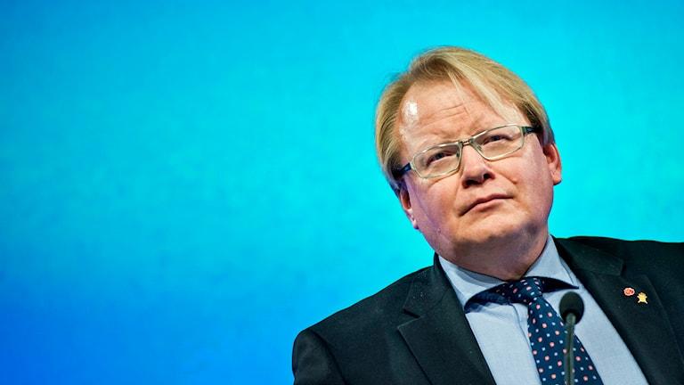 Försvarsminister Peter Hultqvist. Foto: Pontus Lundahl/TT.