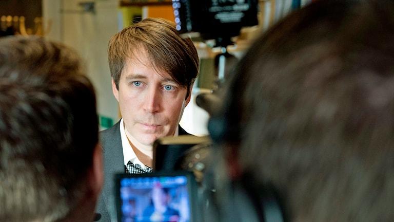 Richard Jomshof, Sverigedemokraterna. Foto: Jessica Gow/TT.